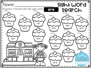 Free Sight Word Search