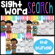 Load image into Gallery viewer, Sight Word Search (The Bundle)