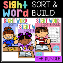 Load image into Gallery viewer, Sight Word Sort and Build (The Bundle)