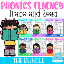 Load image into Gallery viewer, Phonics Trace and Read (The Bundle)