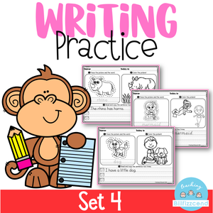Writing Practice Set 4
