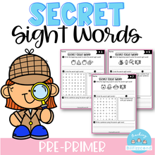 Load image into Gallery viewer, Secret Sight Word (Pre-Primer)