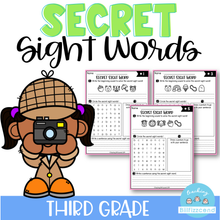 Load image into Gallery viewer, Secret Sight Word (Third Grade)