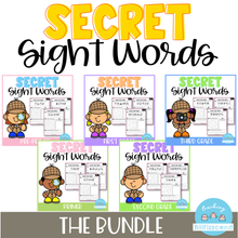 Load image into Gallery viewer, Secret Sight Word (The Bundle)