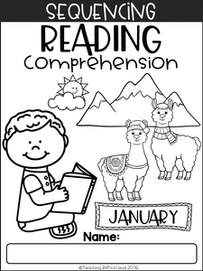 January Sequencing Reading Comprehension