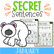 Load image into Gallery viewer, January Secret Sentences