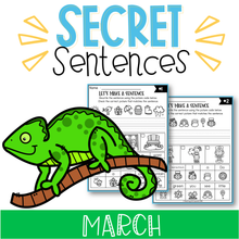 Load image into Gallery viewer, March Secret Sentences