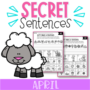 April Secret Sentences