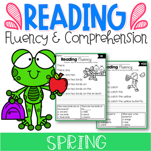 Spring Reading Fluency and Comprehension