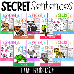 Secret Sentences The Bundle