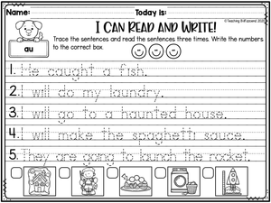 Phonics Trace and Read (The Bundle)