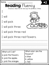 Load image into Gallery viewer, Spring Reading Fluency and Comprehension