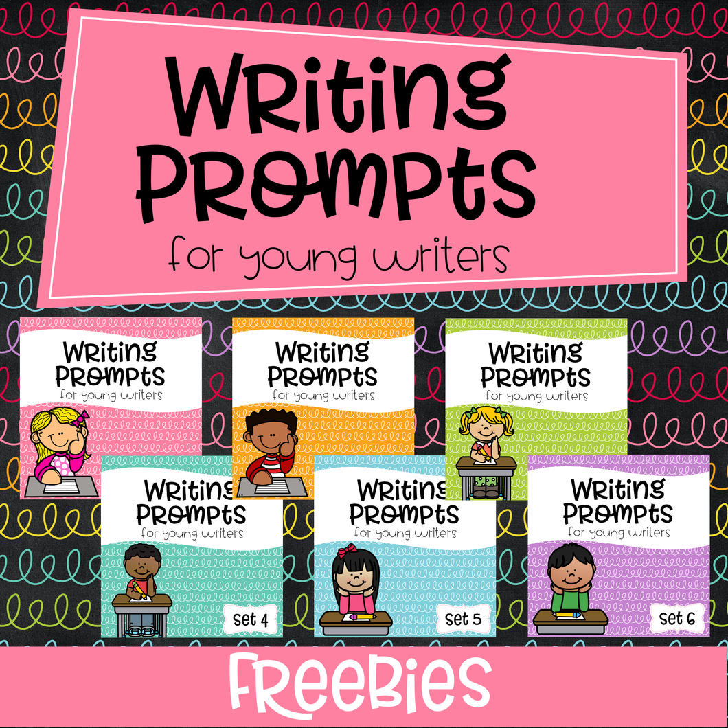 Writing Prompts For Young Writers Freebies