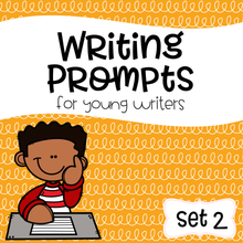 Load image into Gallery viewer, Writing Prompts For Young Writers Set 2