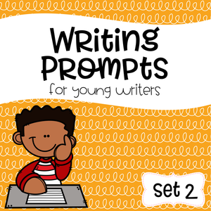 Writing Prompts For Young Writers Set 2