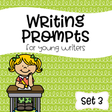 Load image into Gallery viewer, Writing Prompts For Young Writers Set 3