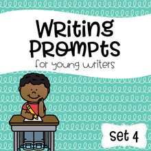 Load image into Gallery viewer, Writing Prompts For Young Writers Set 4