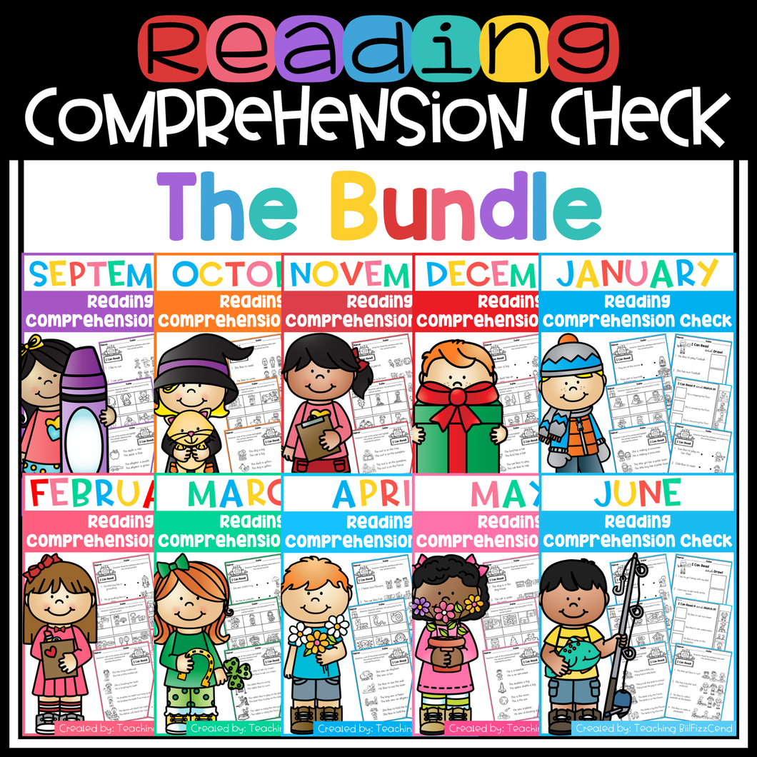 Reading Comprehension Check (The Bundle)