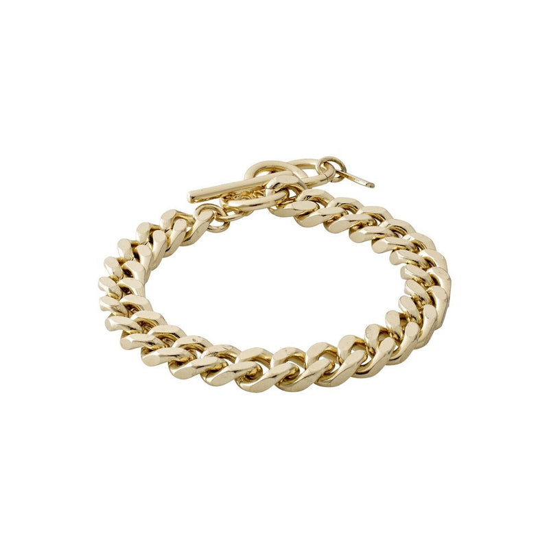Chain Water Gold Plated Bracelet