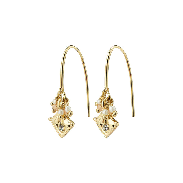 Nomad Gold Plated Earrings