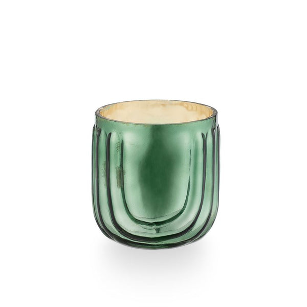 Pressed Glass Candle