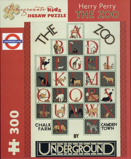 Herry Perry The Zoo Puzzle