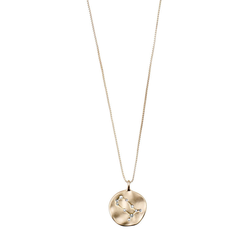 Gemini Gold Plated Necklace