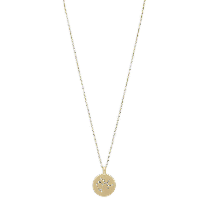 Sagittarius Star Sign Gold Plated Necklace