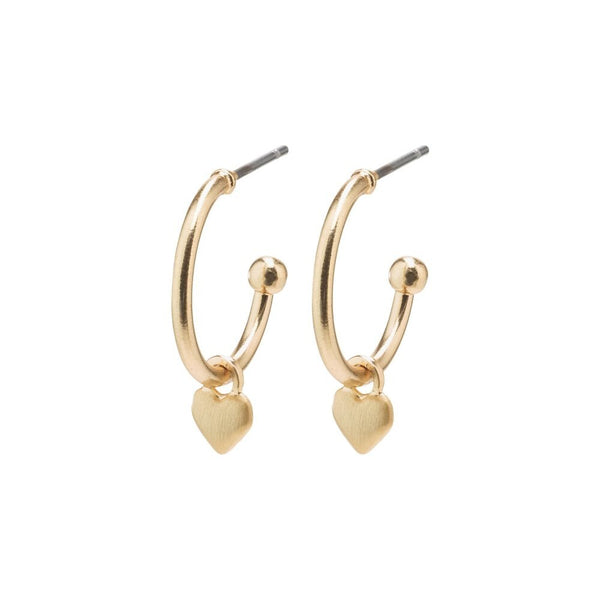 Sophia Gold Plated Hoops