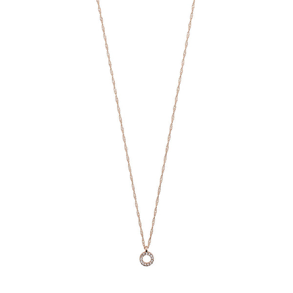 Tessa Rose Gold Plated Necklace