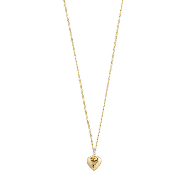 Sophia Gold Plated Crystal Necklace