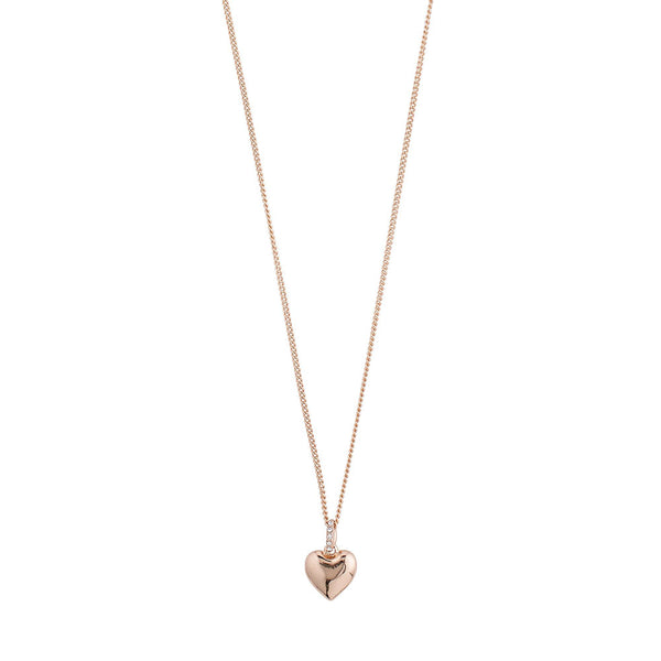 Sophia Rose Gold Plated Crystal Necklace
