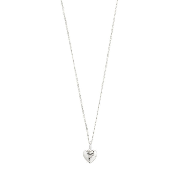 Sophia Silver Plated Crystal Necklace