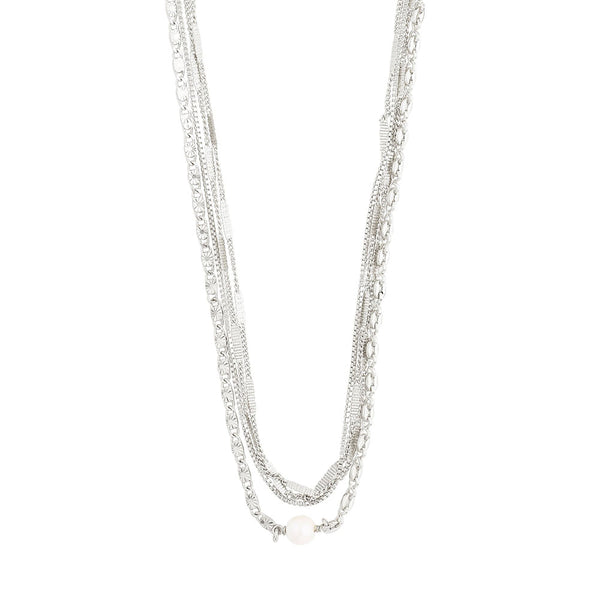 Katherine Silver Plated Necklace
