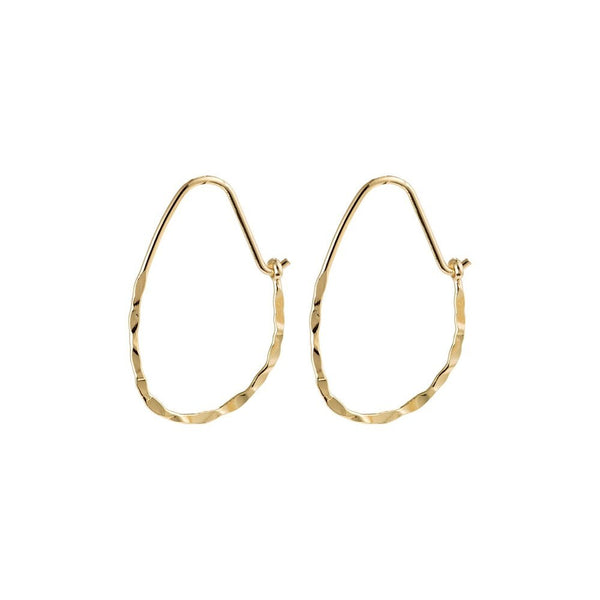 Olena Gold Plated Hoops