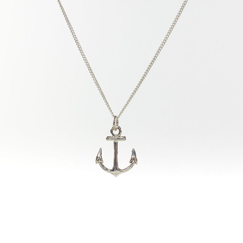 Anchor Havana Sterling Silver Necklace