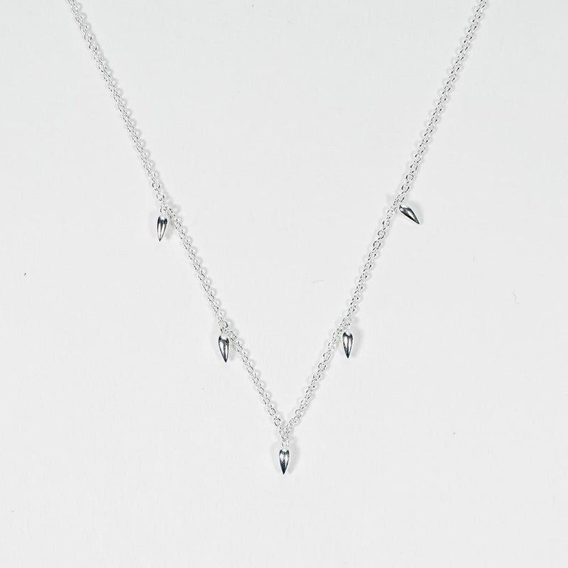 Pods Silver Necklace