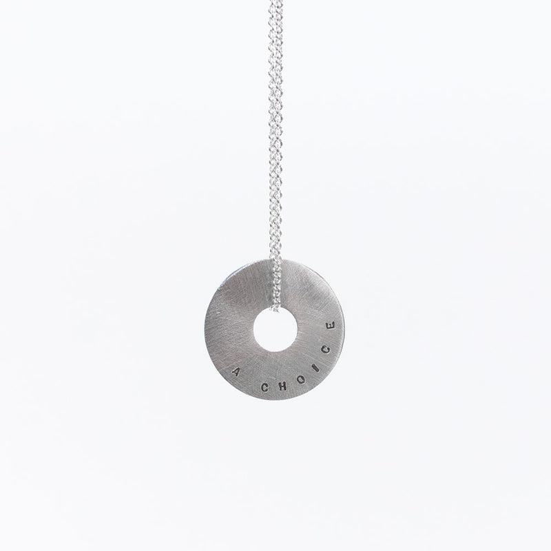 Small Halo Necklace