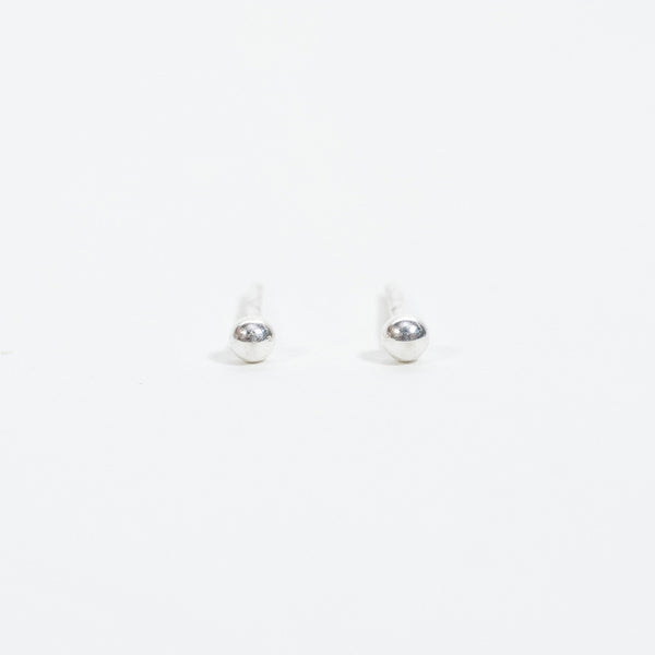 2mm Sterling Silver Ball Studs