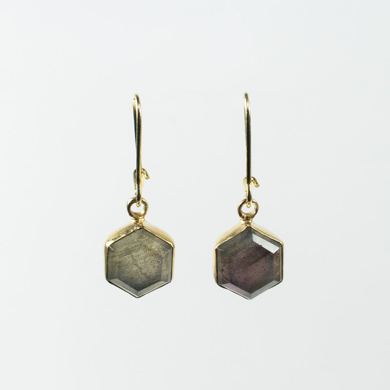 Honeybee Gold Plated Drop Earrings
