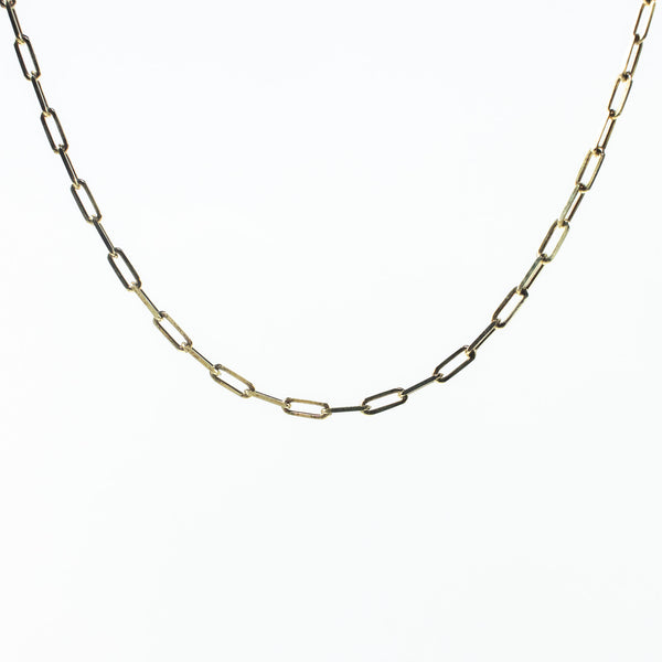 Paperclip Gold Vermeil Chain