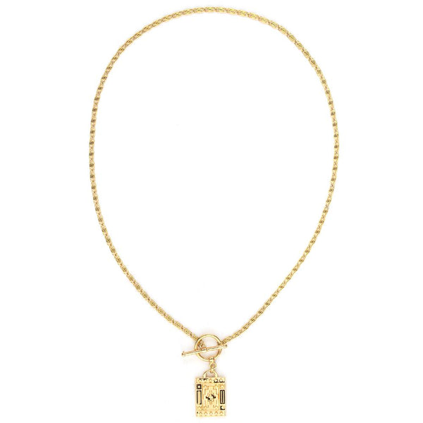 Damien Gold Plated Necklace