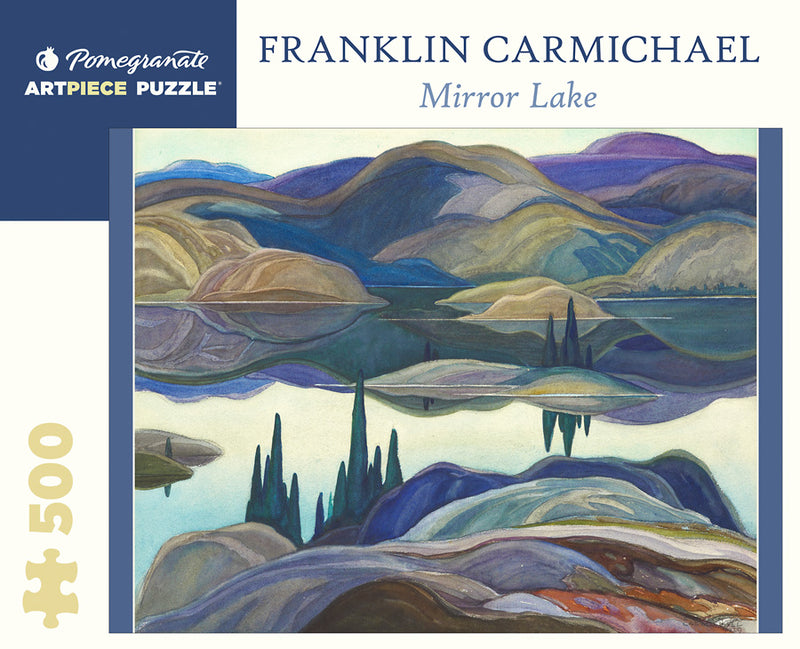 Franklin Carmichael: Mirror Lake 500-Piece Jigsaw Puzzle