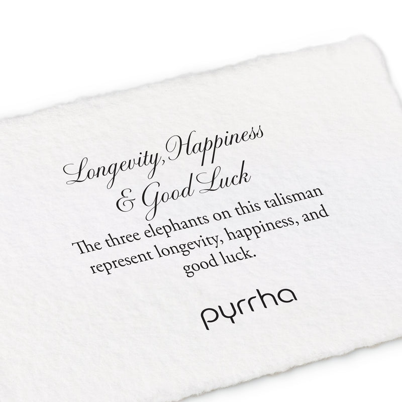 Longevity, Happiness & Good Luck Charm
