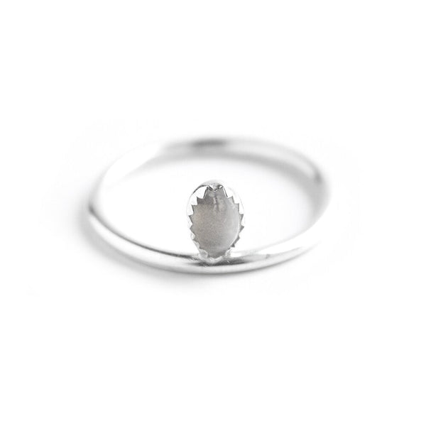 Mounia Silver Plated Ring