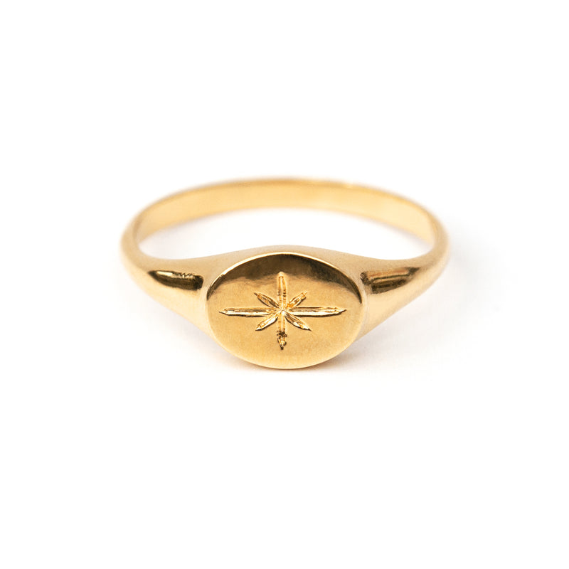 Sirius Gold Vermeil Ring
