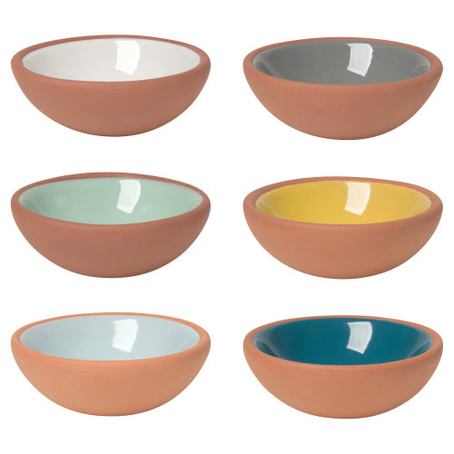 Terracotta Pinch Bowls Set