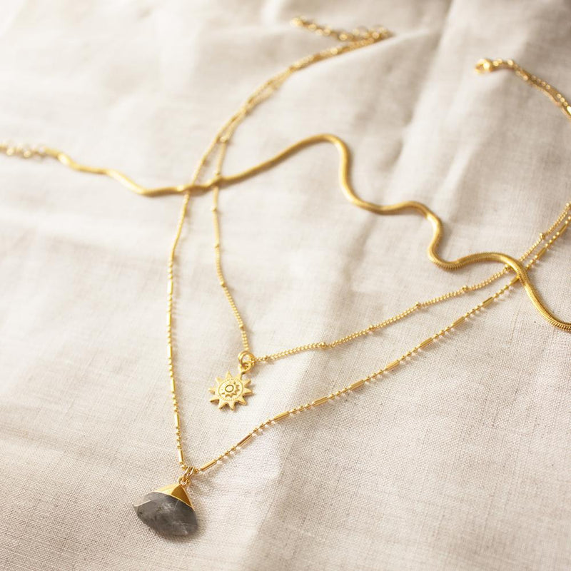 Sunny Gold Plated Necklace