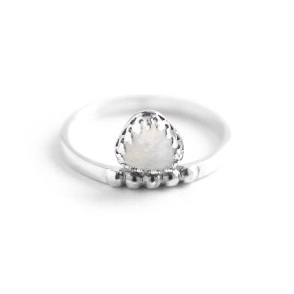 Troie Silver Ring