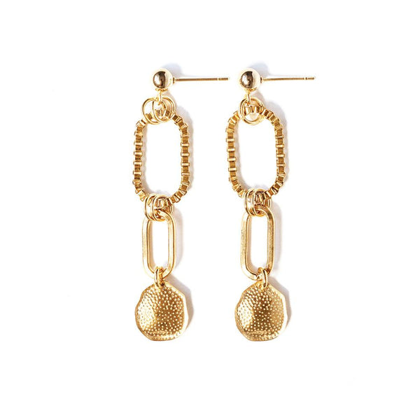Venise Gold Plated Earrings
